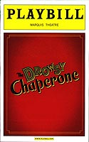 The Drowsy Chaperone Playbill cover